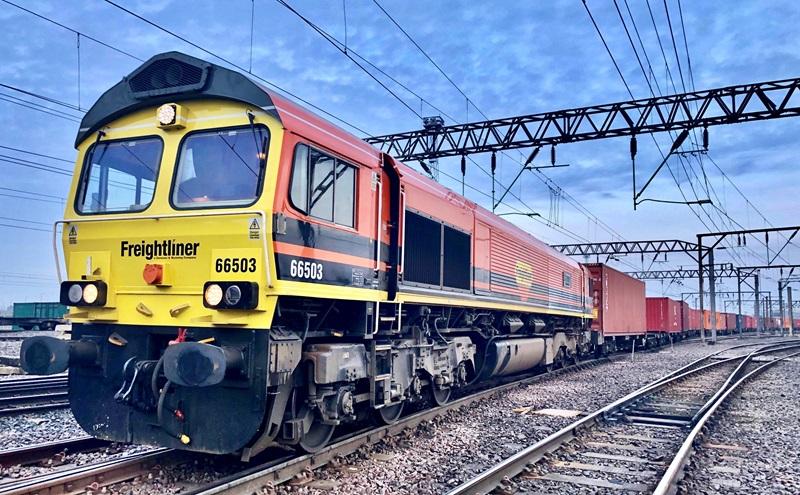 Freightliner train